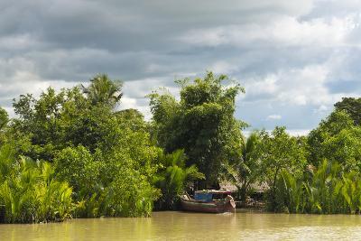Scenery Along the Kaladan River, Rakhine State, Myanmar-Keren Su-Photographic Print