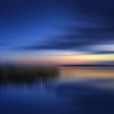 Scenery Art Finland Sunset-Melanie Viola-Art Print