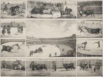 Scènes de tauromachie en Espagne--Giclee Print