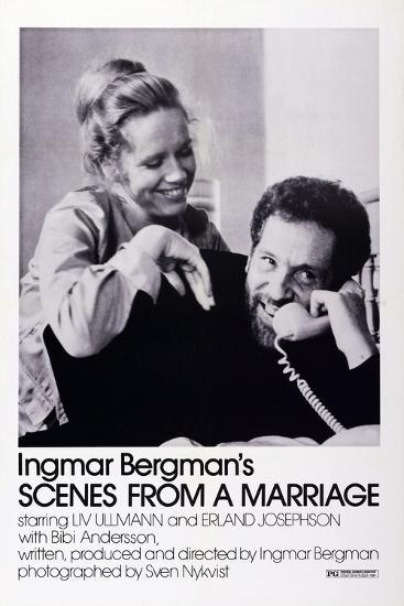 Scenes from a Marriage, Liv Ullmann, Erland Josephson, 1973--Art Print