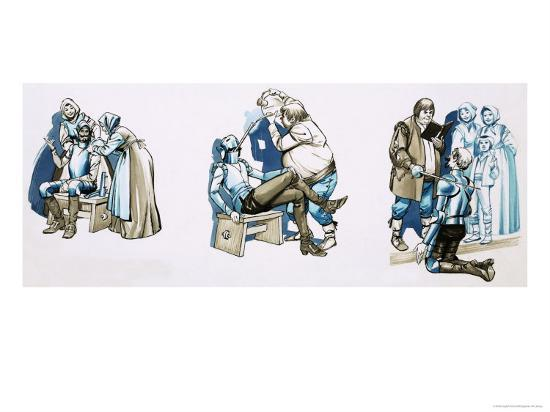 Scenes from Don Quixote--Giclee Print
