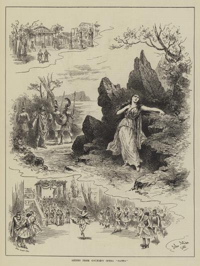 Scenes from Gounod's Opera Sapho-John Jellicoe-Giclee Print