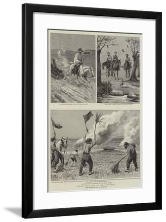 Scenes from Life in South America--Framed Giclee Print
