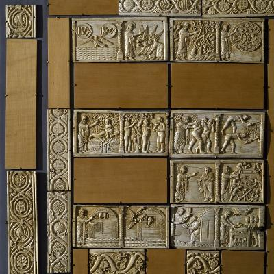 Scenes from Old Testament, Salerno Ivory Altar Frontal, 12th Century, Italy--Giclee Print