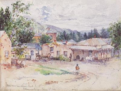 Scenes from the Boer War from a Sketchbook, 1896--Giclee Print