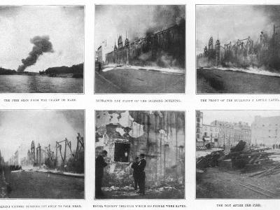 Scenes from the Devastating Fire at the Bazar De La Charite in Paris--Photographic Print
