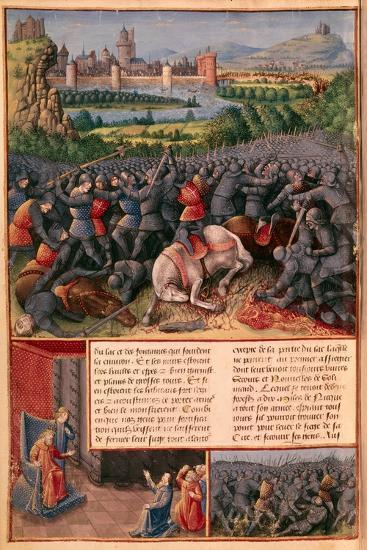 Scenes from the First Crusade, 1096-1099-Sebastian Marmoret-Giclee Print