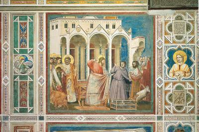 Scenes From the Life of Christ Expulsion of the Money Changers From the Temple-Giotto di Bondone-Giclee Print