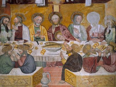 Scenes from the Life of Jesus Christ, Last Supper, 15th Century--Giclee Print