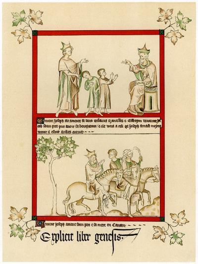 Scenes from the Life of Joseph, C1310-1320--Giclee Print