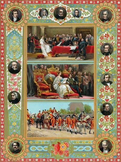 Scenes from the Reign of Queen Victoria, 1887--Giclee Print