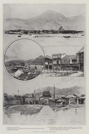 Scenes in British Kowloon-Joseph Holland Tringham-Giclee Print