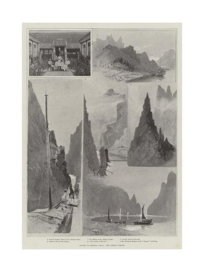 Scenes in Central China, the Ichang Gorges-Henry Charles Seppings Wright-Giclee Print