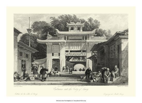 Scenes in China V-T^ Allom-Giclee Print