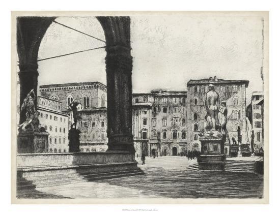 Scenes in Firenze I-Unknown-Giclee Print