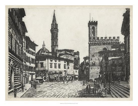 Scenes in Firenze II-Unknown-Giclee Print