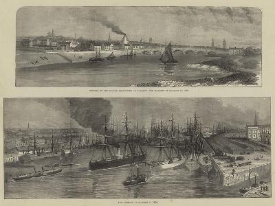 Scenes in Glasgow--Giclee Print