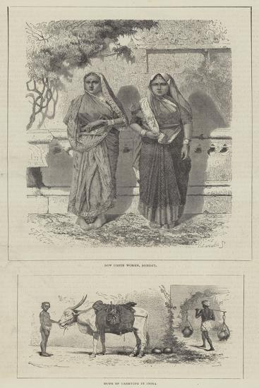 Scenes in India-Emile Theodore Therond-Giclee Print