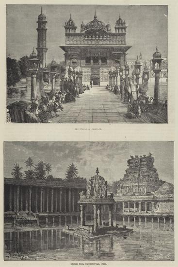 Scenes in India--Giclee Print