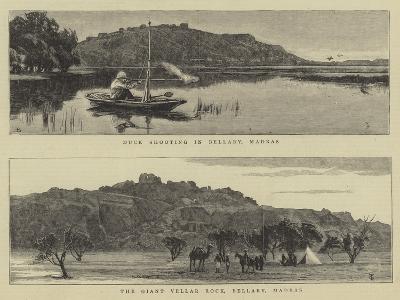 Scenes in Madras--Giclee Print