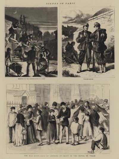 Scenes in Paris--Giclee Print