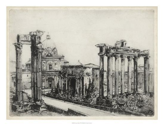 Scenes in Roma-Unknown-Giclee Print