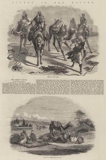 Scenes in the Desert-John Wykeham Archer-Giclee Print