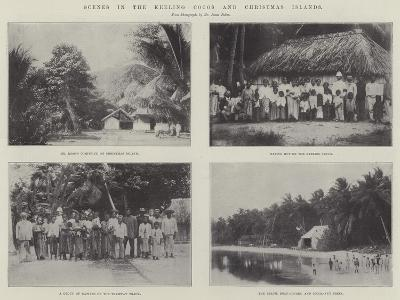 Scenes in the Keeling Cocos and Christmas Islands--Giclee Print