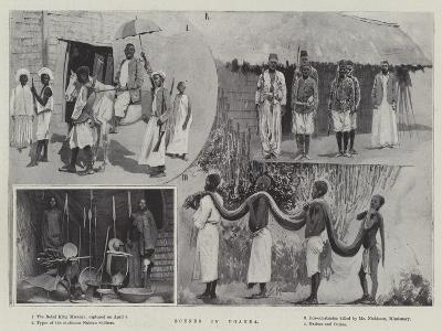 Scenes in Uganda--Giclee Print
