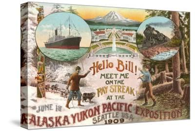 Scenes of 1909 Exposition, Seattle, Washington