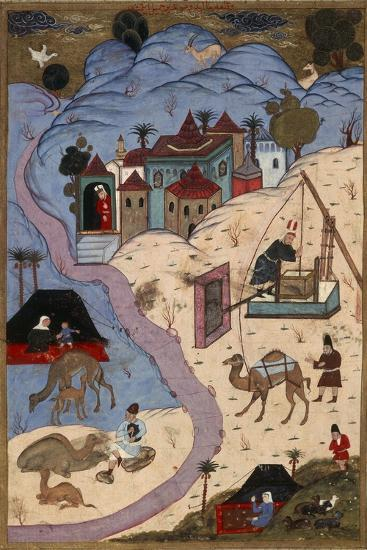Scenes of Everyday Life in the Ottoman Empire During Suleiman the Magnificent's Sultanate--Giclee Print