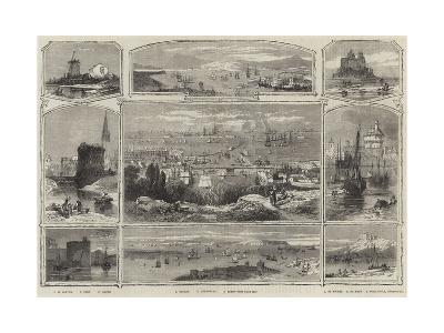 Scenes of France--Giclee Print