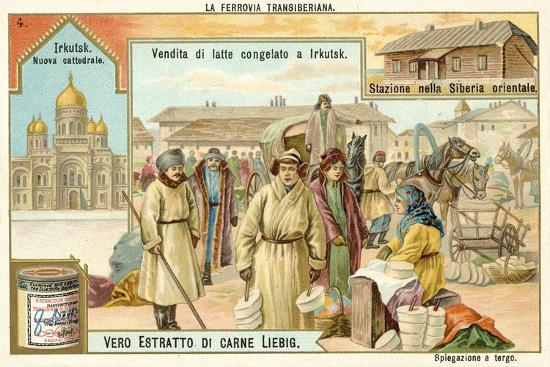 Scenes on the Trans-Siberian Railway--Giclee Print