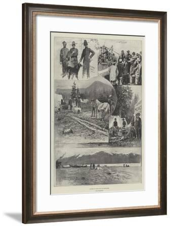 Scenes on the Way to Klondike-Henry Charles Seppings Wright-Framed Giclee Print