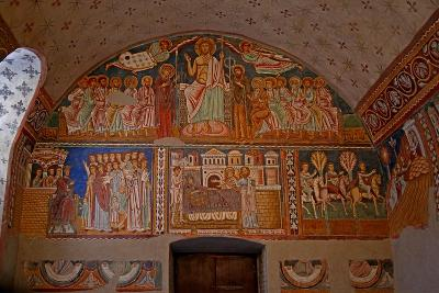 Scenes on the West Wall of the Chapel: from the History of Constantine and St Sylvester--Giclee Print