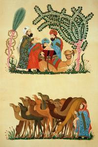 "Scenes Taken from a Manuscript of the ""Maqamat of Al-Hariri"""