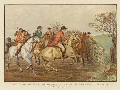 Scenes with the Old Mickledale Hunt--Giclee Print