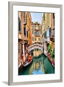Scenic Canal Gondola Venice
