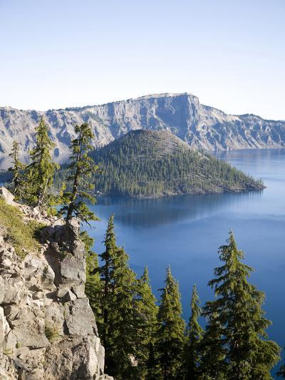 Scenic Image of Crater Lake National Park, Or.-Justin Bailie-Photographic Print