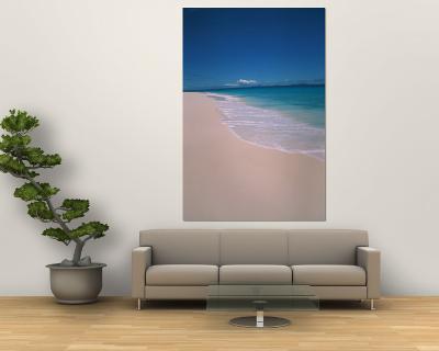 Scenic Tropical Beach, Seychelles-Nik Wheeler-Wall Mural