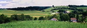 Scenic View of a Farm, Amish Country, Holmes County, Ohio, Usa