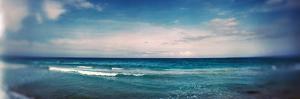 Scenic View of Beach Against Cloudy Sky, Santa Maria Del Mar Beach, Havana, Cuba