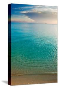 Scenic View of Seascape at Sunset, Great Exumand, Bahamas