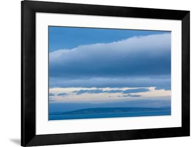 Scenic view of seascape, Nugget Point, The Catlins, Southland, South Island, New Zealand--Framed Photographic Print
