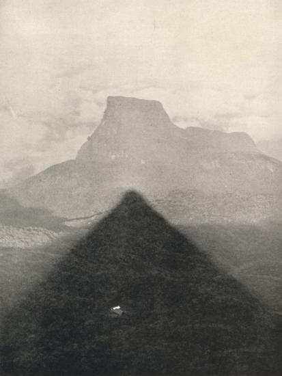 'Schatten des Adamspik bei Sonnenaufgang', 1926-Unknown-Photographic Print