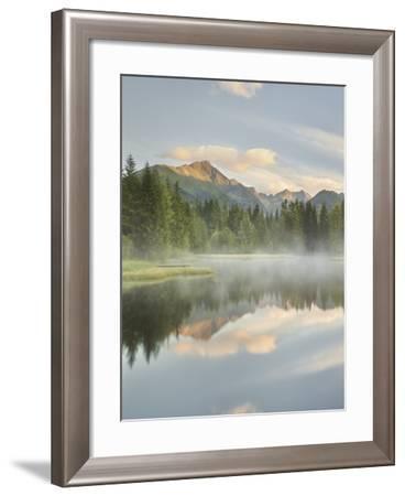 Schattensee Lake, Krakauschatten, Schladminger Tauern, Styria, Austria-Rainer Mirau-Framed Photographic Print