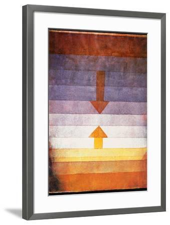 Scheidung Abends, c.1922-Paul Klee-Framed Art Print