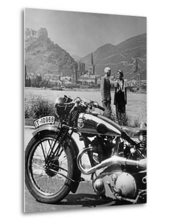 A Motorcycle Trip Alongside the Rhein River, 1936