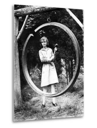 Dinner Bell in a Girls Summer Camp, 1931
