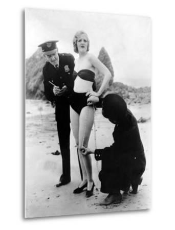 Peggy Graves on the Beach, 1933